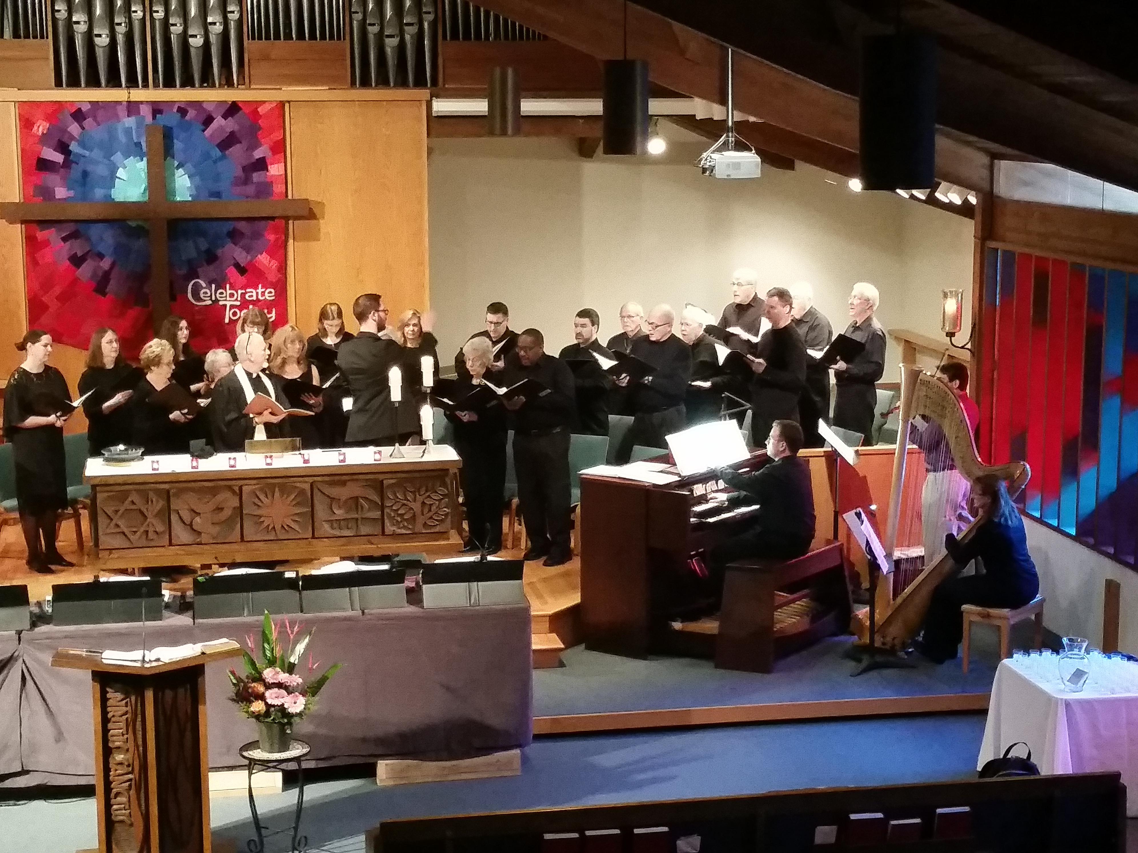 Cross of Christ Lutheran, Bellevue WA, 2015/